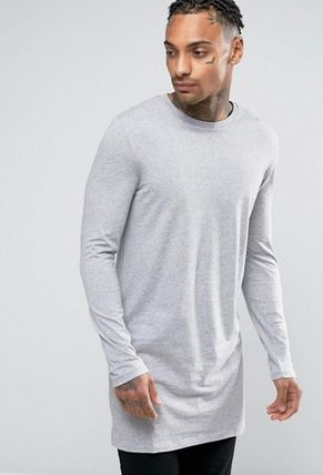 ASOS Long Sleeve Crew Neck Pullovers Street Style Long Sleeves Cotton 2