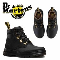 Dr Martens Mountain Boots Round Toe Casual Style Suede Plain