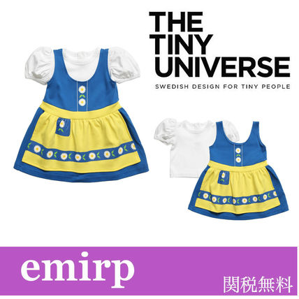 The Tiny Universe 2017 Ss Organic Cotton Halloween Baby Girl Dresses