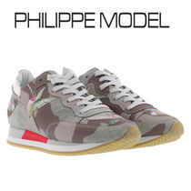 PHILIPPE MODEL PARIS Camouflage Casual Style Other Animal Patterns