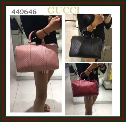 GUCCI Leather Luxury Brand Bag Boston & Duffles