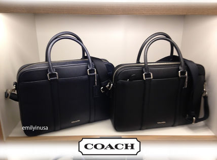 Coach Business Briefcases Leather