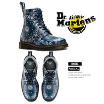 Dr Martens Plain Toe Mountain Boots Leather Outdoor Boots