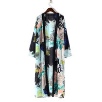 Flower Patterns Gowns Cardigans