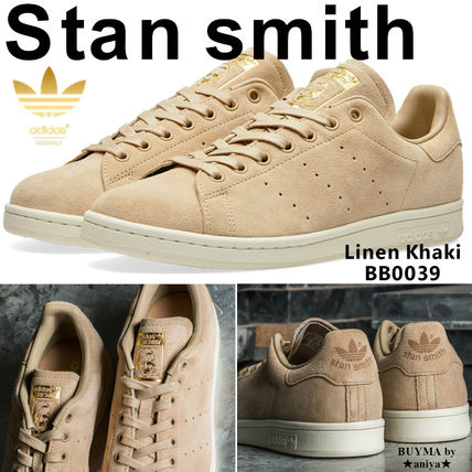 lowest price 5bca3 44e53 adidas STAN SMITH 2017 SS Unisex Suede Street Style Plain Sneakers (BB0039)
