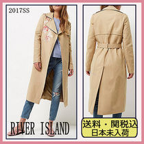 River Island Flower Patterns Trench Coats