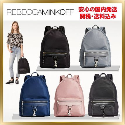 Casual Style A4 2WAY Plain Backpacks