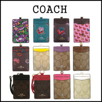 Coach Card Holders