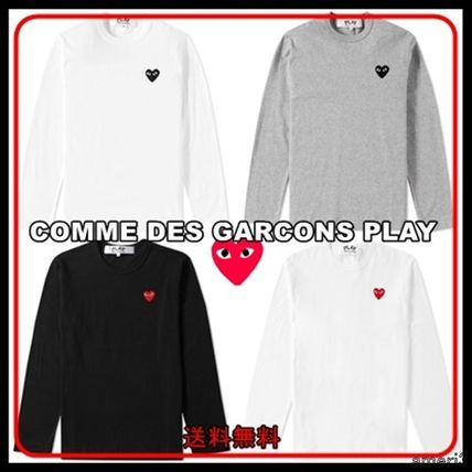 COMME des GARCONS Long Sleeves Cotton Long Sleeve T-Shirts