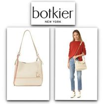 Botkier 2WAY Chain Plain Leather Office Style Shoulder Bags