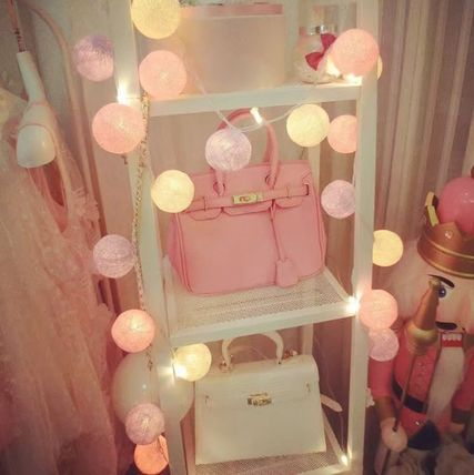 Cotton ball lights outdoor party, also 20 pieces)