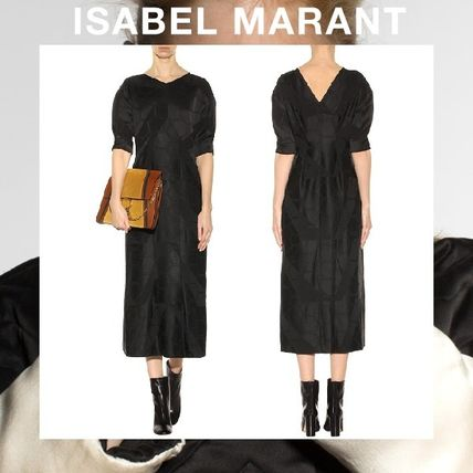 ISABEL MARANT Rany crepe de chine dress