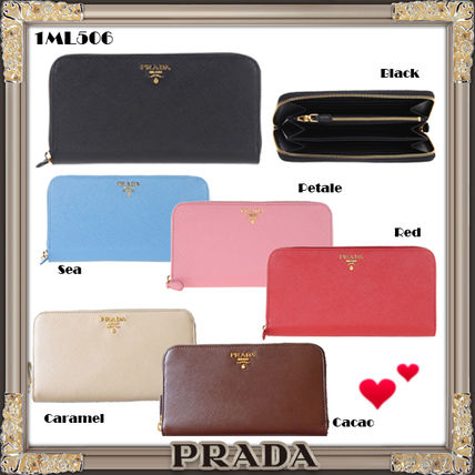 17SS Saffiano wallet long wallet 1ML 506