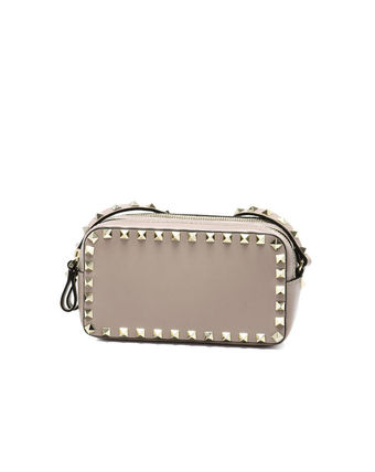 Shoulder bag beige ROCKSTUD