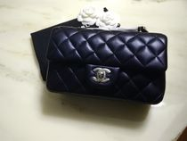 CHANEL MATELASSE Lambskin 2WAY Leather Party Style Shoulder Bags