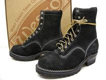 Wesco Suede Engineer Boots