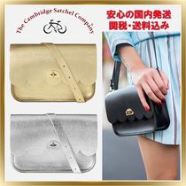 Cambridge Satchel Flower Patterns Casual Style 3WAY Plain Leather