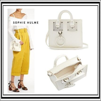 SOPHIE HULME Small Albion leather box bag