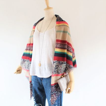 Casual Style Oversized Lightweight Scarves & Shawls