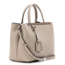 FENDI 2 JOURS 2Jours Petite Shopper Bag / Dove Grey