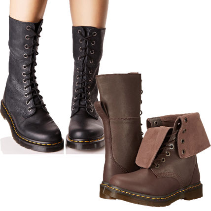 2 WAY lace up long boots