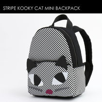Lulu Guinness Stripes Casual Style Backpacks