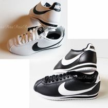 Nike CORTEZ Unisex Bi-color Leather Low-Top Sneakers
