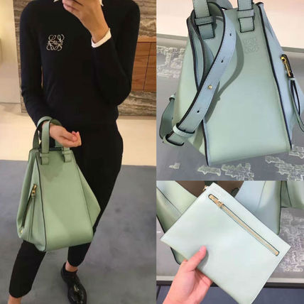 2017SS Hammock Leather tote Bag