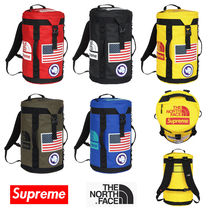 Supreme Nylon Street Style Collaboration Backpacks