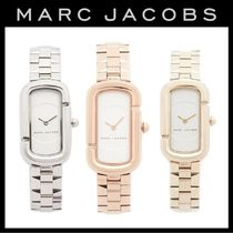 Marc by Marc Jacobs Metal Square Quartz Watches Office Style Analog Watches