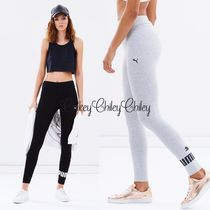 PUMA Casual Style Street Style Cotton Long Bottoms