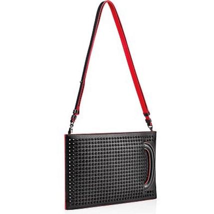 Christian Louboutin Studded 3WAY Leather Clutches