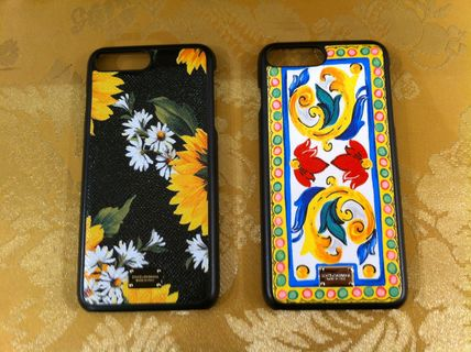 17SSMambo Collection Dolce & Gabbana Leather iPhone7Plus