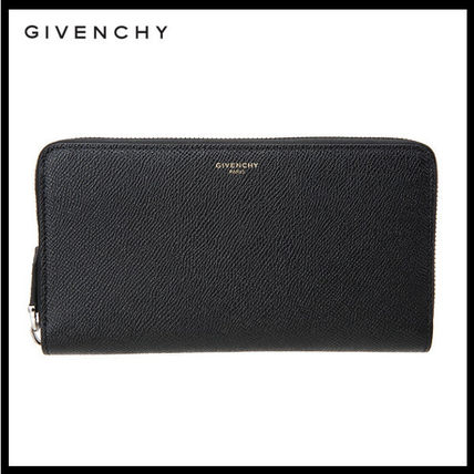 GIVENCHY Unisex Leather Long Wallets