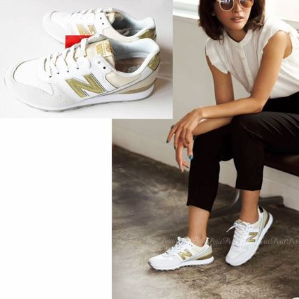 New Balance:WR996 IE/Sneakers  Cool white&gold!