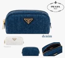 PRADA Plain Pouches & Cosmetic Bags