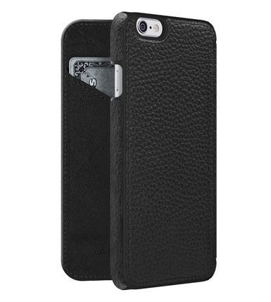 Plain Leather Smart Phone Cases