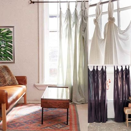 New UO * noted draped curtain length 1 or 2 pieces