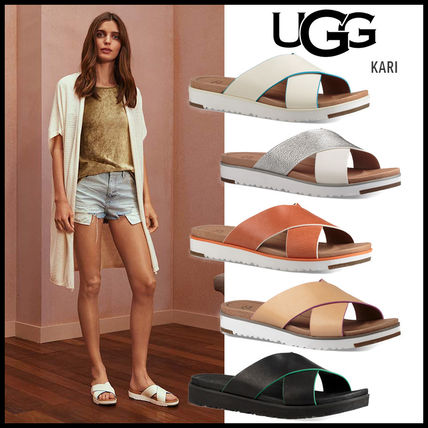 Including UGG Comfortable Foot Bed Sandals