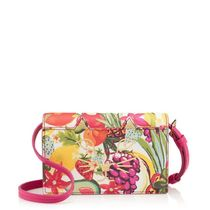 Charlotte Olympia Tropical Patterns Casual Style Calfskin Saffiano 2WAY