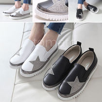 Faux Fur Slip-On Shoes