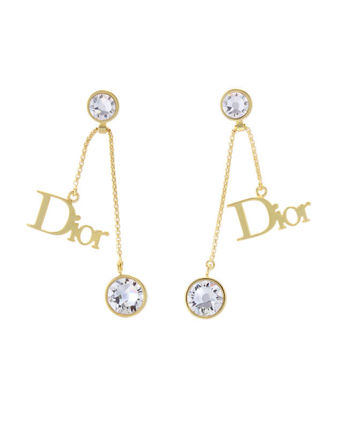 Earrings gold DIOR BY DIOR