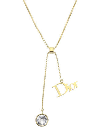 Necklace gold DIOR BY DIOR