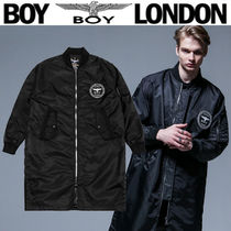 BOY LONDON Street Style Other Animal Patterns Long MA-1 Bomber Jackets