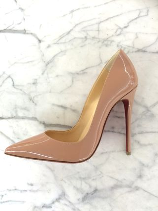 SO KATE patent nude 23.5 24 cm