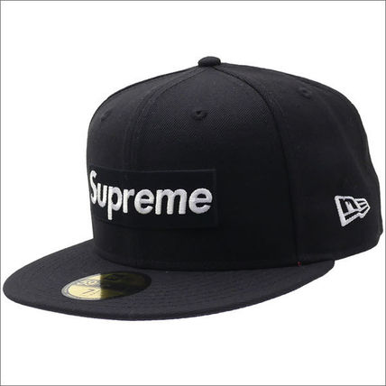 17SS Playboy Box Logo Era Cap Black Black