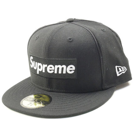 17SS Piping Box Logo Era Cap Black Black