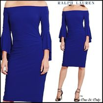 Ralph Lauren Tight Plain Medium Party Dresses