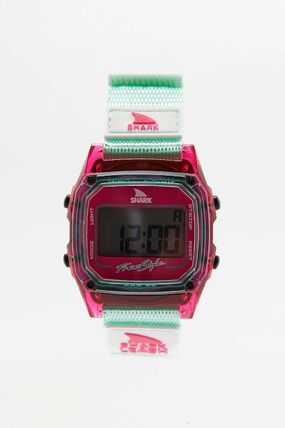 Casual Style Silicon Square Divers Watches Analog Watches