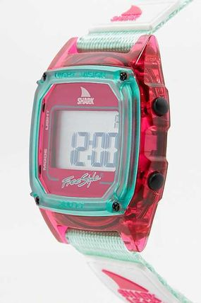 Freestyle Casual Style Silicon Square Divers Watches Analog Watches